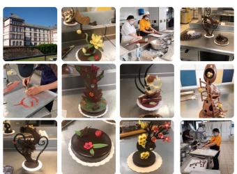 Découvrez les créations des apprentis CAP Chocolatier Confiseur